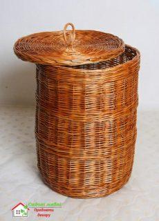 Корзина для белья (круглая)