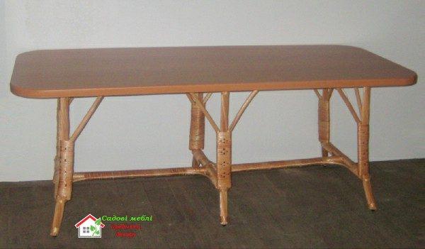 Стол обеденный МДФ С-5п (прямоугольный)