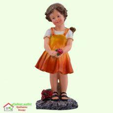 Девочка с розами 5-522