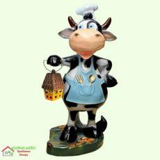 Корова повар с фонарем 5-426
