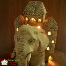 Слон с домом (А) F045