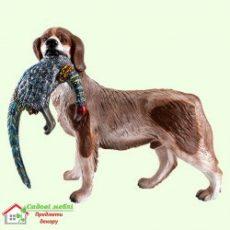 Собака с фазаном  5-484