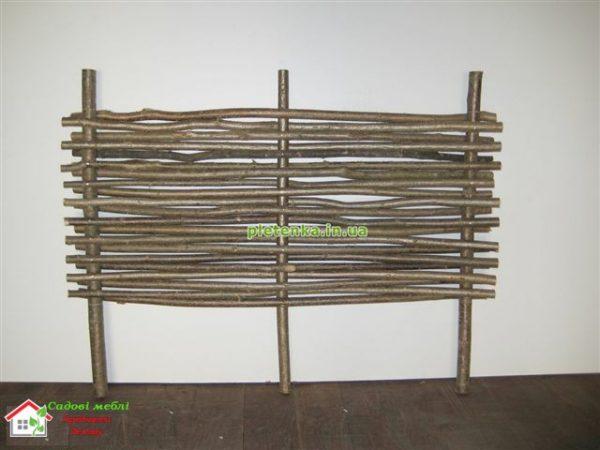 Забор плетеный (орешник) ЗП-1