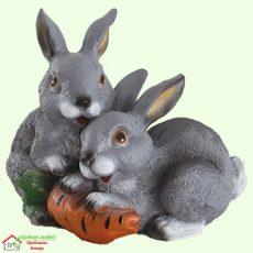 Зайцы с морковкой 5-471