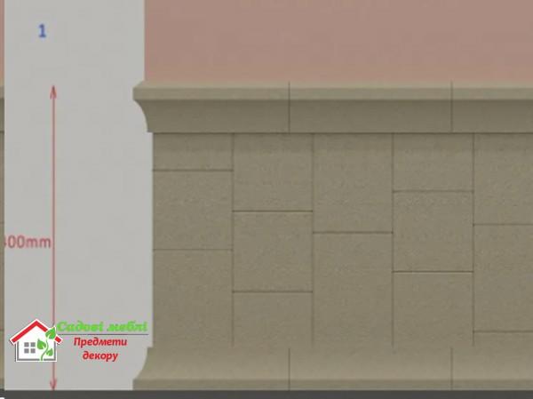 Цокольная плитка для фасада AA013