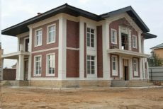 Декор для дома (отделка фасада шамотом) OD-1