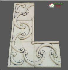 Фасадный фриз с узором №2 A047