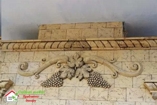 Лепной декор для фасада А093